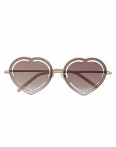 Солнцезащитные очки с затемненными линзами Matthew williamson