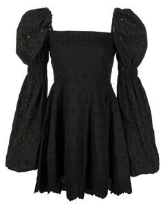 Платье мини Wren с вышивкой Caroline constas