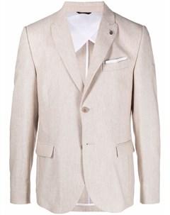 Однобортный пиджак строгого кроя Daniele alessandrini