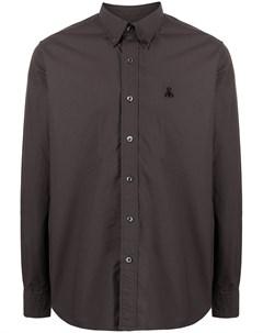 Рубашка на пуговицах с вышитым логотипом Sophnet.