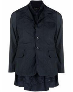 Куртка рубашка со сборками Comme des garçons tricot