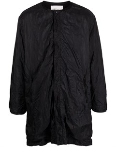 Стеганое пальто без воротника White mountaineering