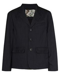 Однобортный пиджак в тонкую полоску By walid