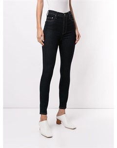 Укороченные джинсы скинни Siren Nobody denim