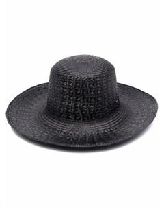 Соломенная шляпа Saint laurent