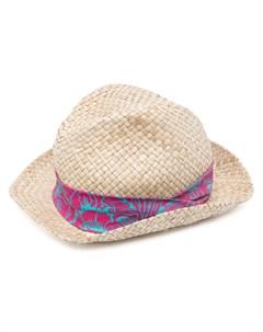 Соломенная шляпа федора Paul smith