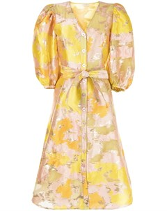 Расклешенное платье с цветочным принтом Stine goya