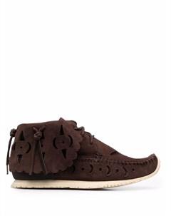Ботинки с вырезами Visvim
