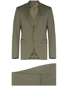 Строгий костюм с однобортным пиджаком Canali