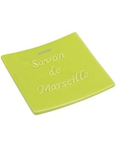 Мыльница Savon De Marseille цвет киви Spirella