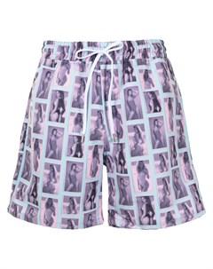 Плавки шорты Babes с кулиской Stampd