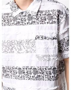 Рубашка в технике пэчворк Engineered garments