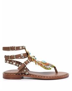 Декорированные сандалии Pandora Ash