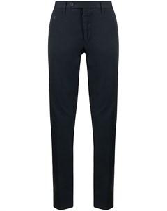 Узкие брюки средней посадки Stefano ricci