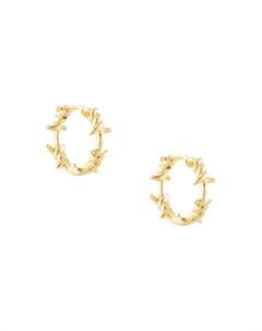Маленькие серьги кольца Eshvi