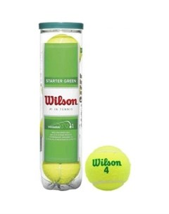 Мяч для большого тенниса Starter Green Play WRT137400 Wilson