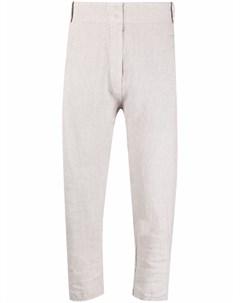 Укороченные брюки кроя слим Kristensen du nord