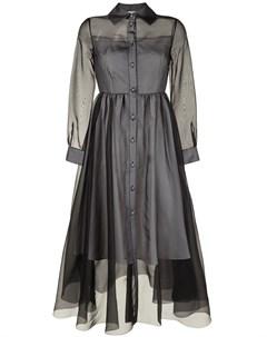 Платье рубашка на пуговицах Huishan zhang