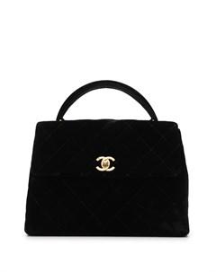 Маленькая стеганая сумка 1997 го года с логотипом CC Chanel pre-owned
