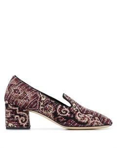 Туфли лодочки с принтом пейсли Etro