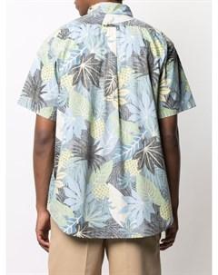 Рубашка Popover BD с цветочным принтом Engineered garments