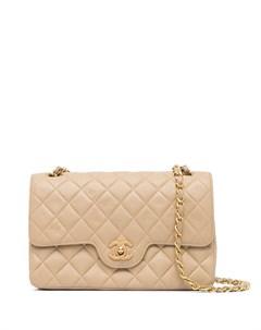 Сумка на плечо Double Flap 1990 х годов Chanel pre-owned