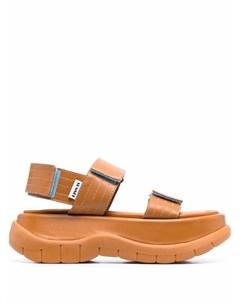 Массивные сандалии на липучках Sunnei