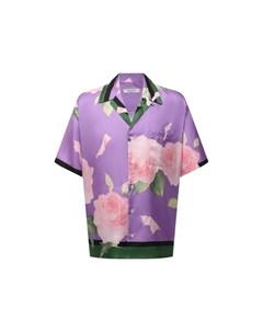 Шелковая рубашка Valentino