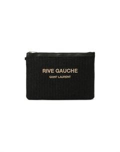 Текстильный клатч Rive Gauche Saint laurent