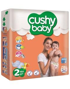 Подгузники 3 6кг 80шт Cushy baby