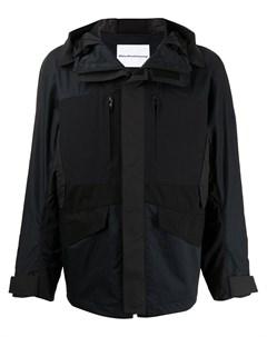 Легкая куртка на молнии с капюшоном White mountaineering