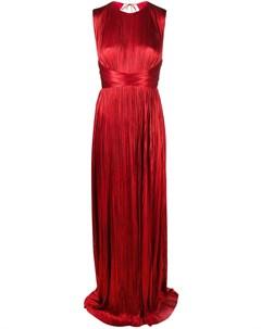 Платье Adela со сборками Maria lucia hohan
