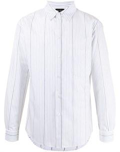 Полосатая рубашка с длинными рукавами No21