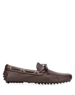 Лоферы со шнурками Car shoe