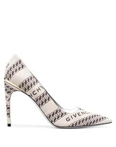 Туфли лодочки с заостренным носком и принтом Givenchy