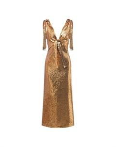 Платье с пайетками Paco rabanne