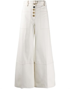 Твиловые брюки в стиле милитари Eudon choi