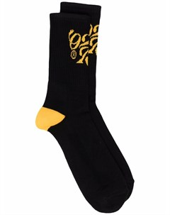 Носки с вышитым логотипом 02settantacinque
