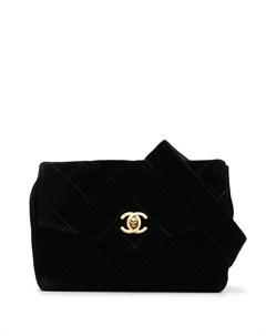 Поясная сумка 1995 го года с логотипом CC Chanel pre-owned