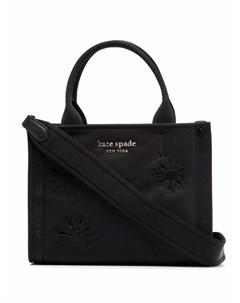 Маленькая сумка тоут с вышивкой Kate spade