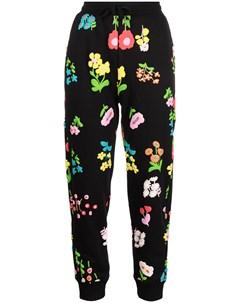 Спортивные брюки с цветочным принтом Cynthia rowley