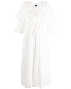 Платье рубашка Daliah с оборками Cynthia rowley