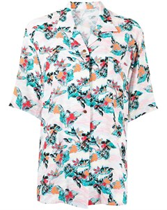 Рубашка Aloha с короткими рукавами и графичным принтом Sulvam
