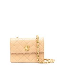 Стеганая мини сумка через плечо 1990 х годов Chanel pre-owned