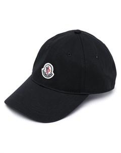 Бейсболка с нашивкой логотипом Moncler