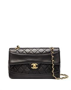 Стеганая сумка на плечо 1990 х годов с логотипом CC Chanel pre-owned