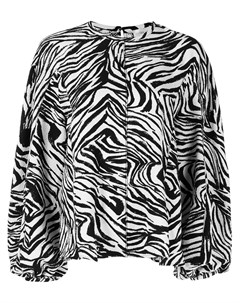 Блузка Dianne с зебровым принтом Stine goya