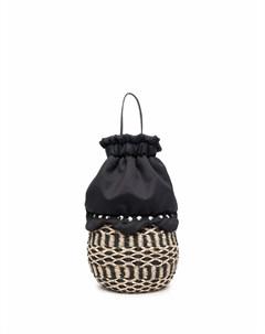 Пляжная сумка корзина с кулиской Comme des garçons tricot