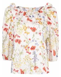 Блузка с цветочным принтом Sara roka