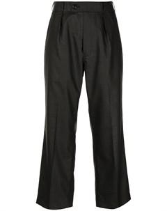 Укороченные брюки в тонкую полоску Comme des garçons tricot